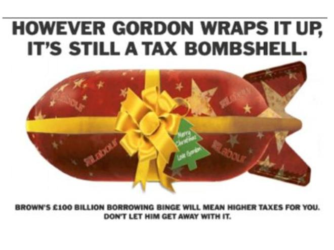 """However Gordon wraps it up, it's still a tax bombshell."""