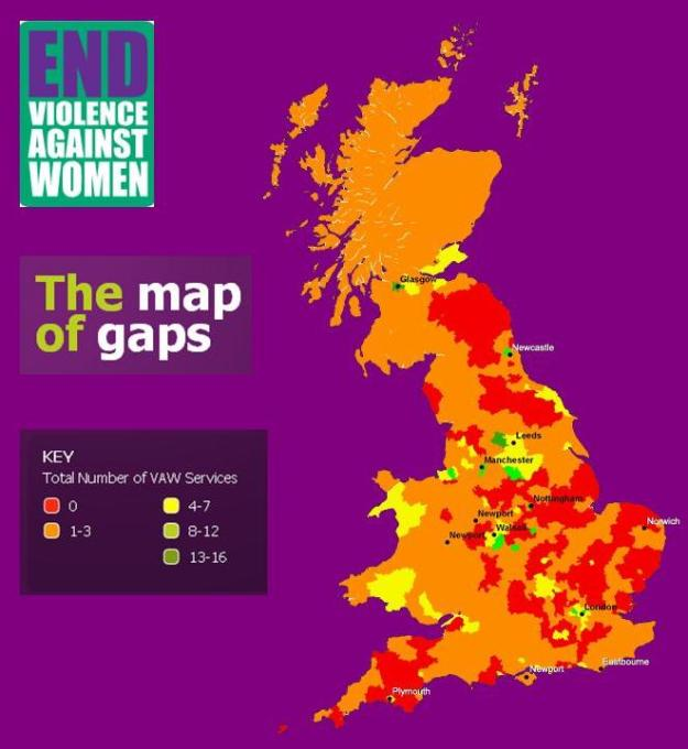 The map of gaps campaign