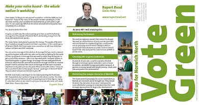 Rupert Reed - Green Party