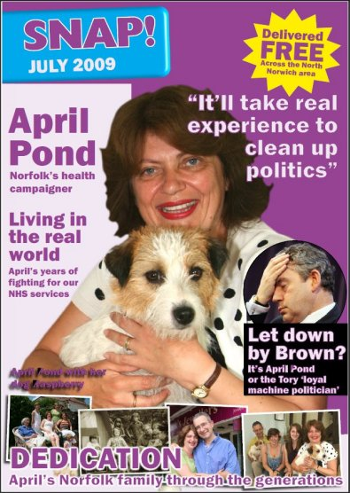 April Pond - Liberal Democrat Party