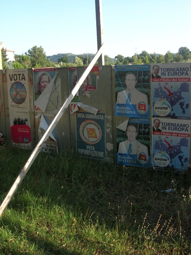 Perugia Political advertising communism