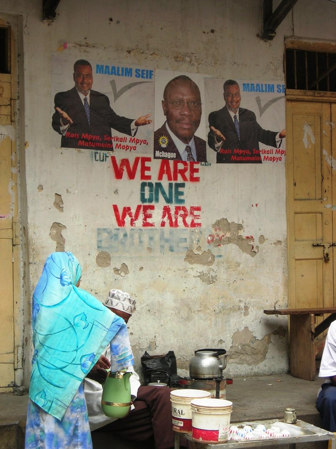 maalim seif zanzibar political campaign