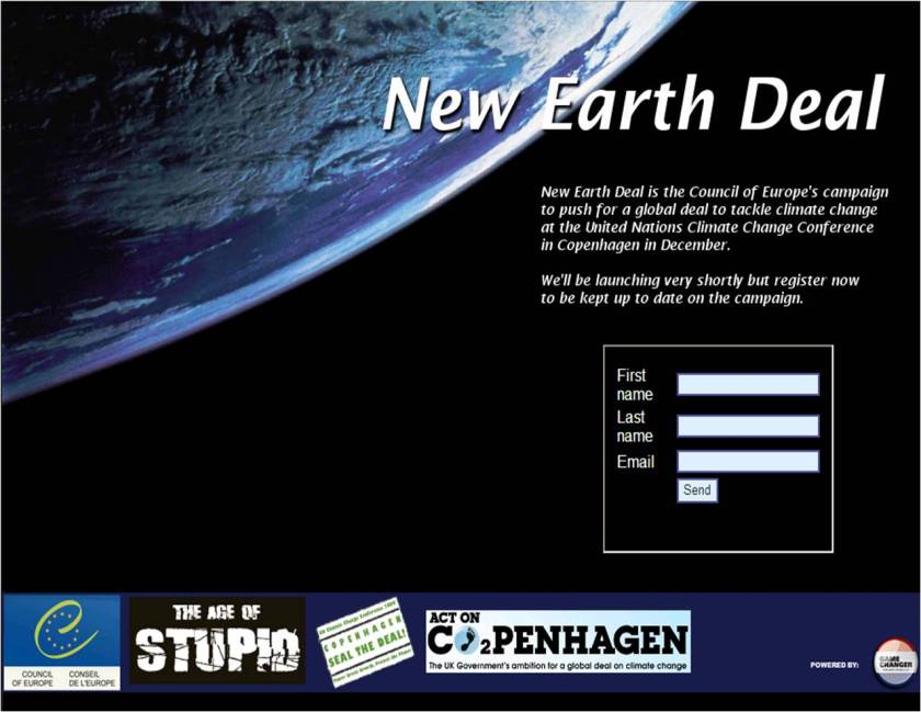 New Earth Deal