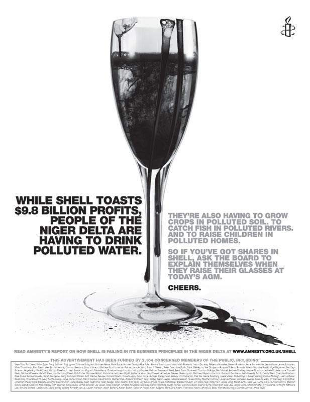 amnesty shell ad