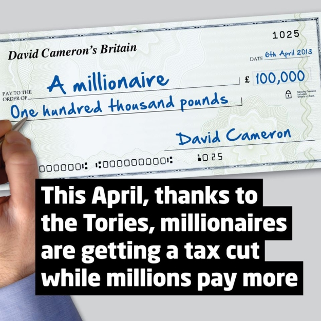 labour millionaires tax cut