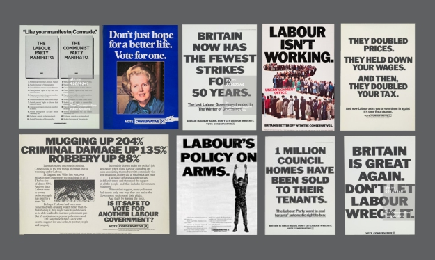 Best of Thatcher Saatchi and saatchi conservative posters