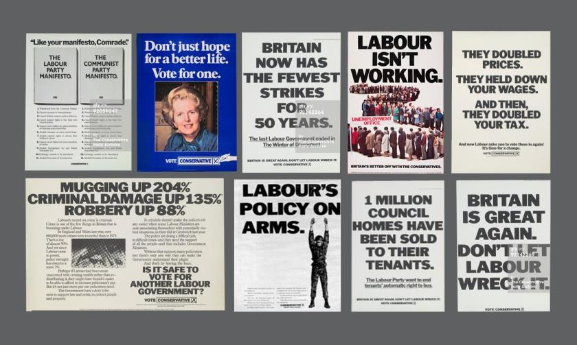 Best of Thatcher Saatchi and saatchi conservative posters