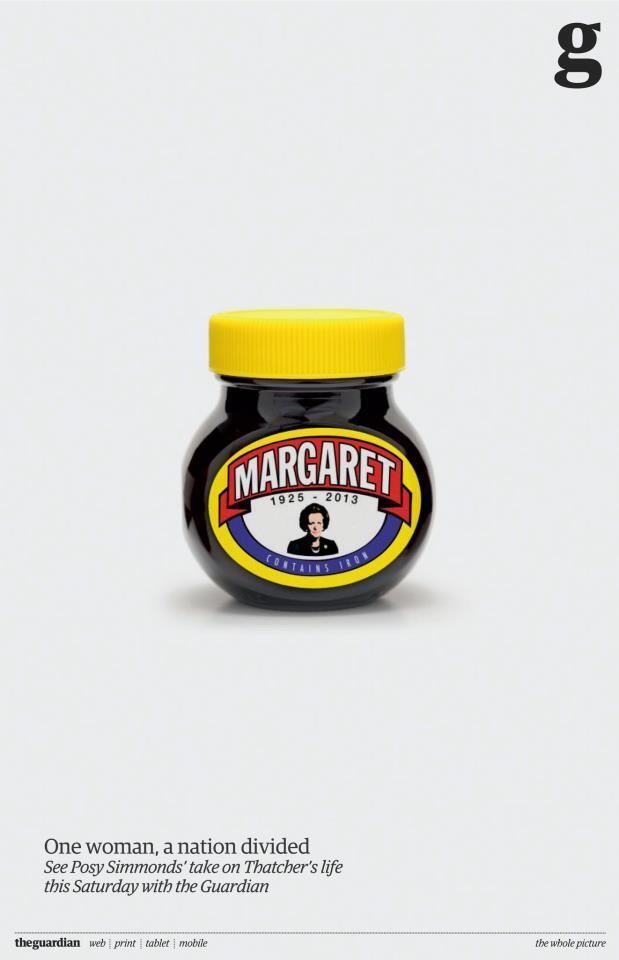Marmite Margaret Guardian Ad BBH