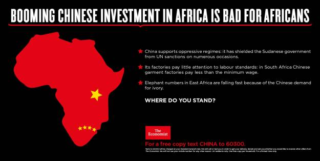 Booming chinese investment in africa is bad for africans