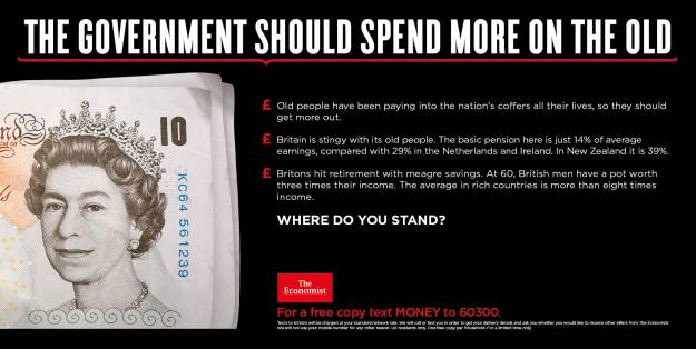 Economist where do you stand government should spend more on the old bank note
