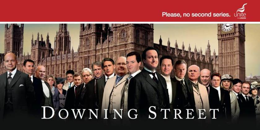 Downing St Downton Abbey