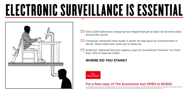 electronic sureillance essential economist where do you stand