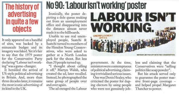 labour isnt working historical context