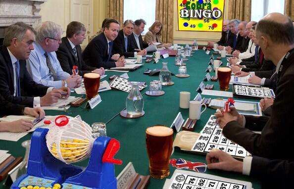 Tory bingo cabinet