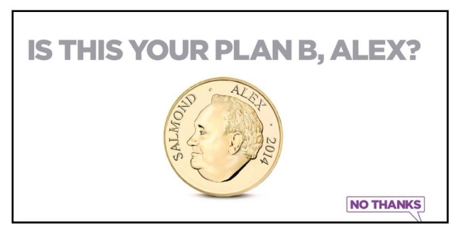 Better together is this your plan b alex salmond poster