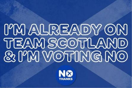 Better together team scotland voting no