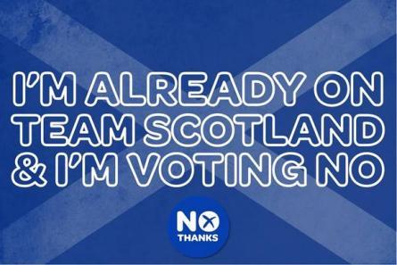 Better together team scotland voting no