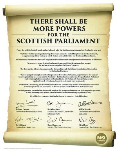 More powers to scotland