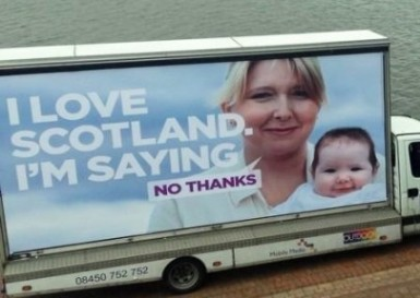 no thanks better together i love scotland