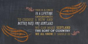 yes scotland once in a lifetime