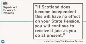 Yes scotland - pension rebuttal