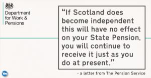 Yes scotland - pension rebuttal