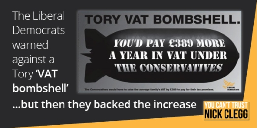 You cant trust Clegg VAT bombshell