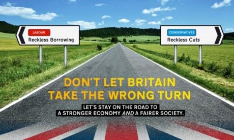 Lib Dem poster dont let britain take the wrong turn