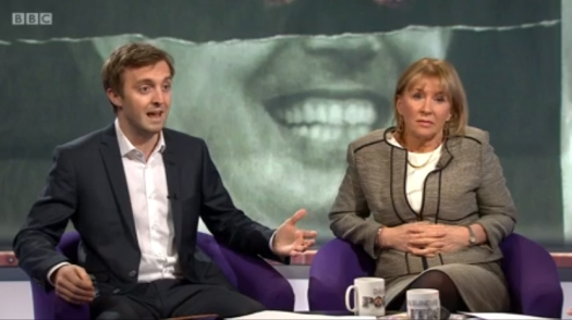 Me getting defensive on the BBC Daily Politics