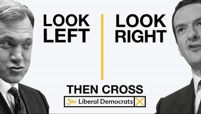 Lib Dem Look left look right