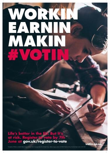 #votin earnin workin
