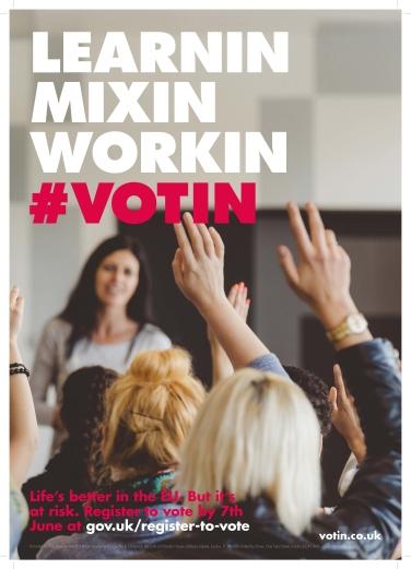 #votin stronger in learnin