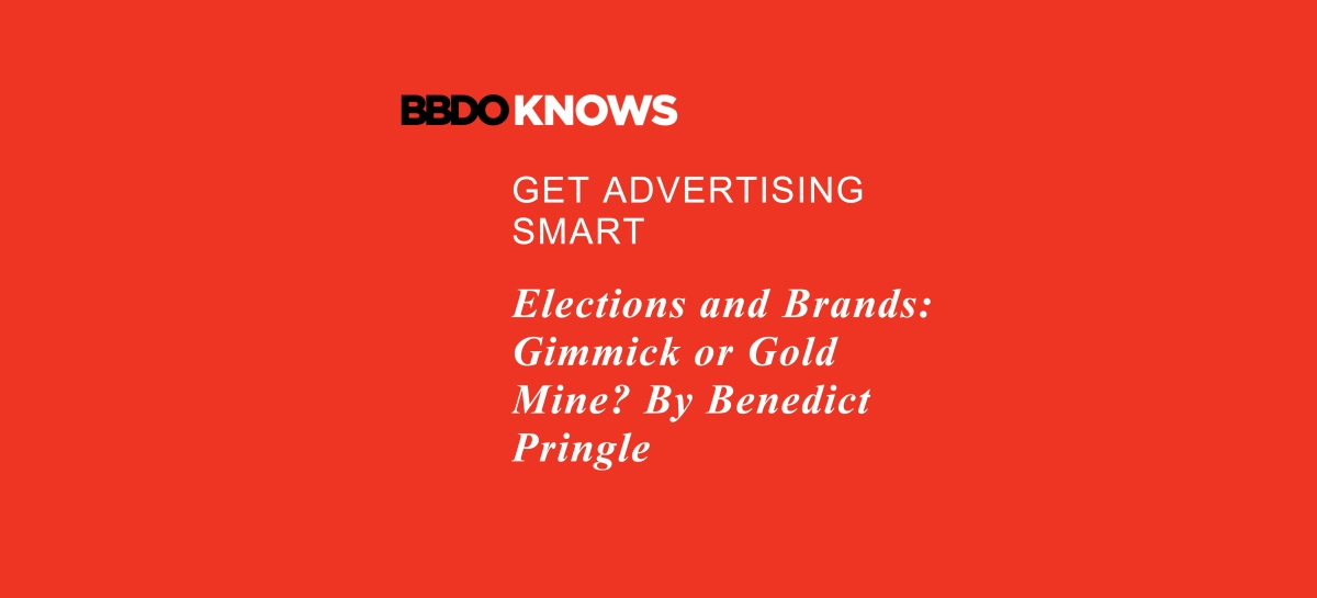 Elections and brands: gimmick or gold mine