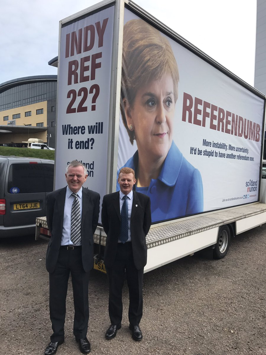 Referendumb - Scotland in Union poster unveil