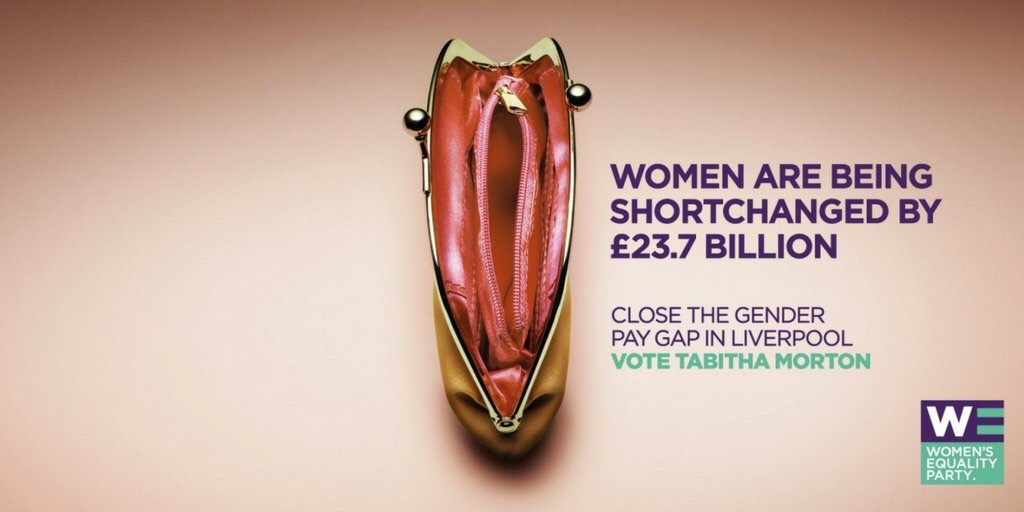 Women's Equality Party PursePoster