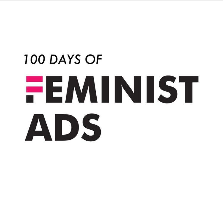 100 days of feministads