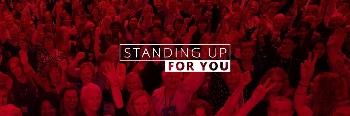 Labour slogan GE2017 - Standing up for you
