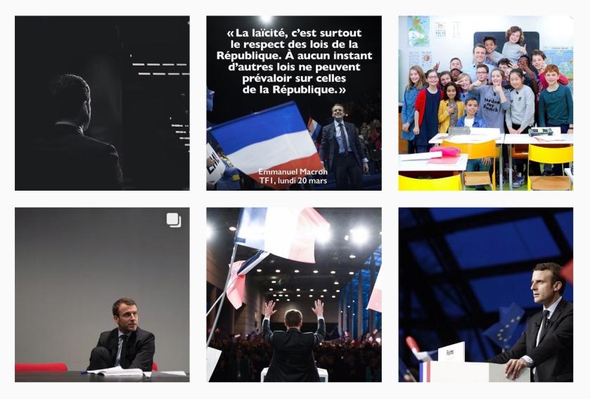 Macron instagram