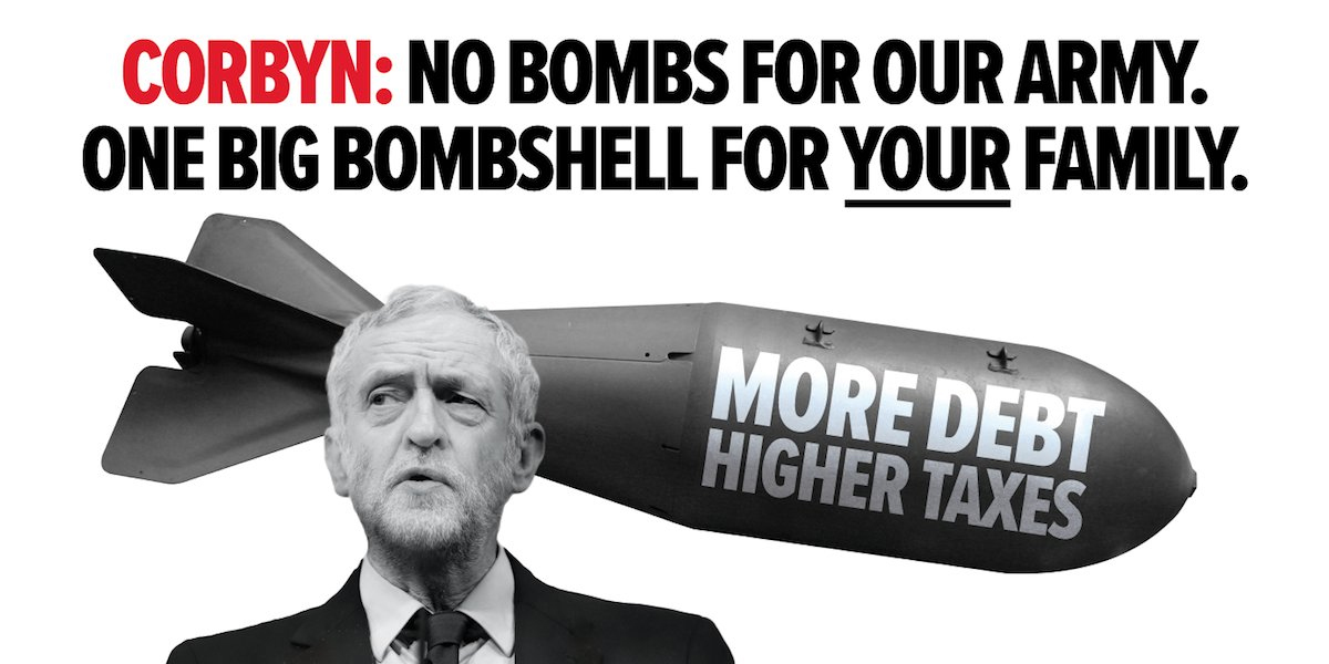 Corbyn bombshell poster likely to landbadly