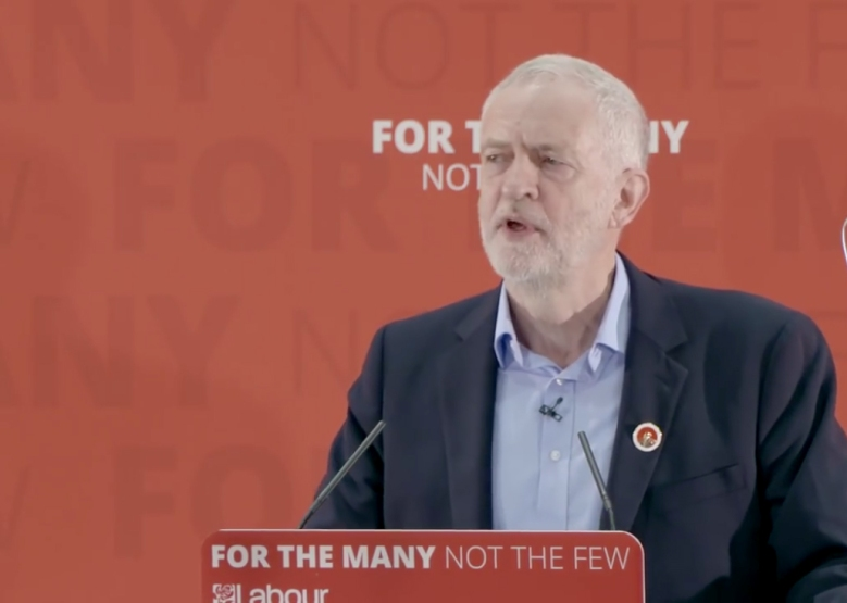 Corbyn for the many not the few