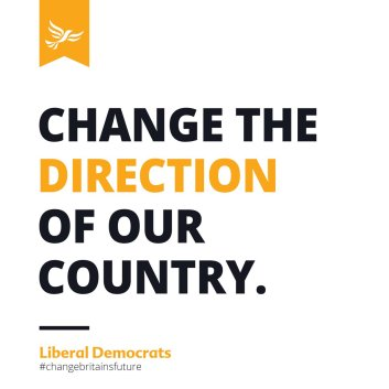 Lib Dems change the direction of our country