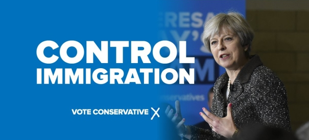 Control Immigration - Conservative 2017
