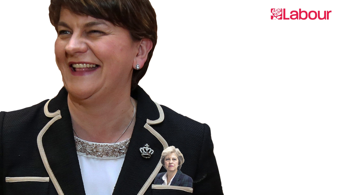Theresa May is in the DUP'spocket