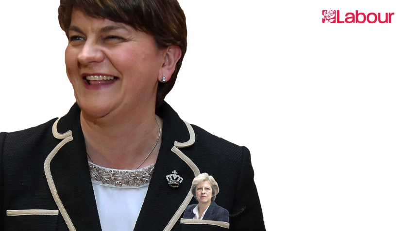 May is in DUP's pocket