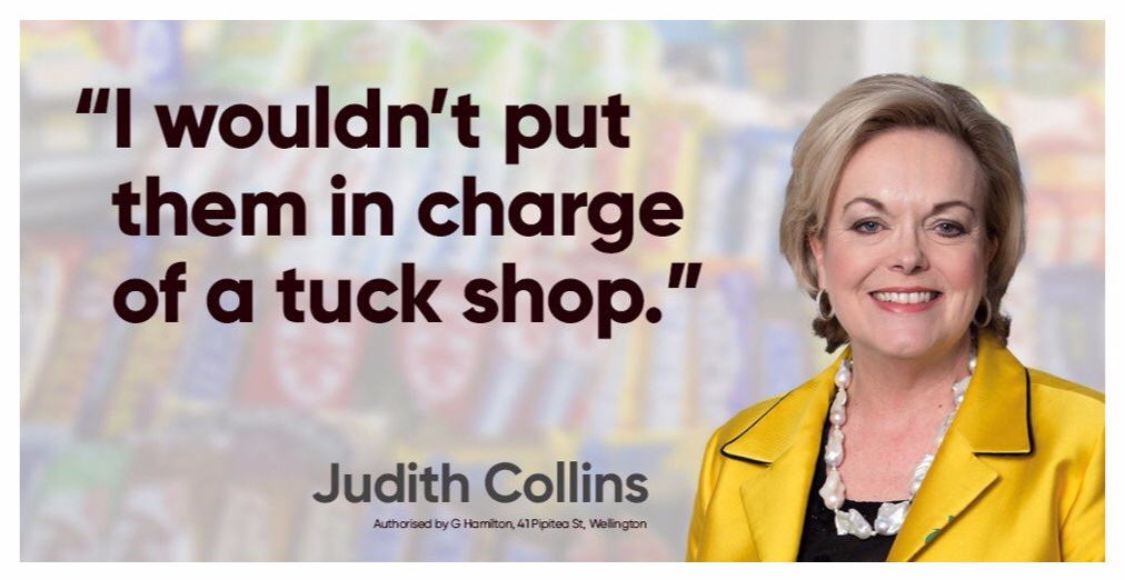 nz general election 2017 judith collins ad