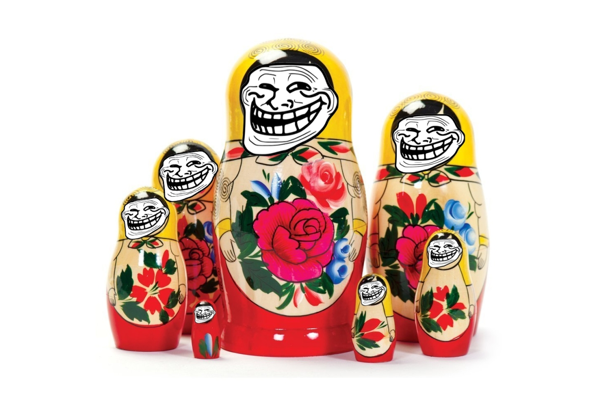 Who's inside the Russian Doll?
