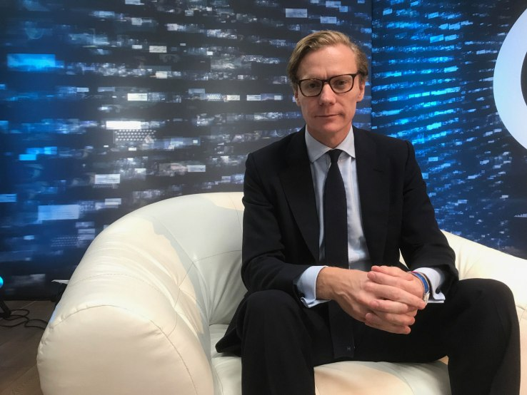 Alexander Nix - politics elections social media segmentation targeting cambridge analytica