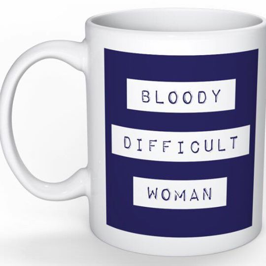 bloody difficult woman