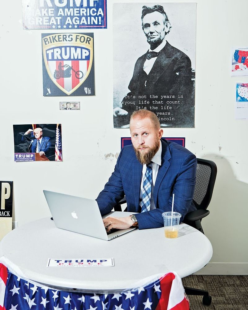 Brad Parscale Trump 2020 campaign manager