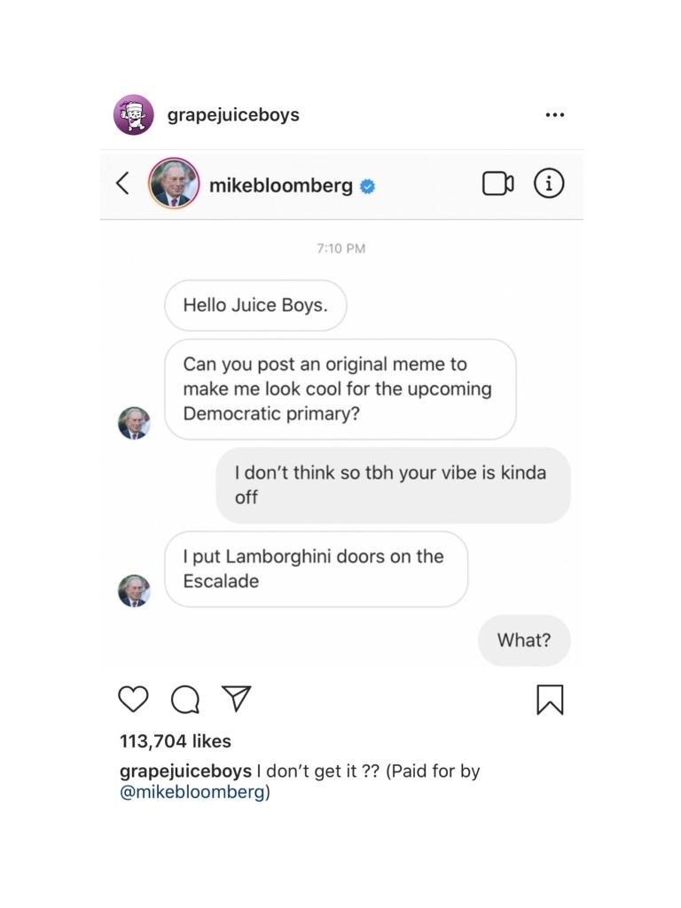 Mike Bloombery meme lamborghini doors